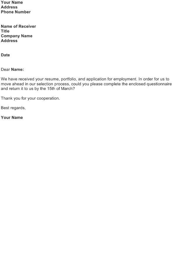 acknowledgement letter sample download free business letter