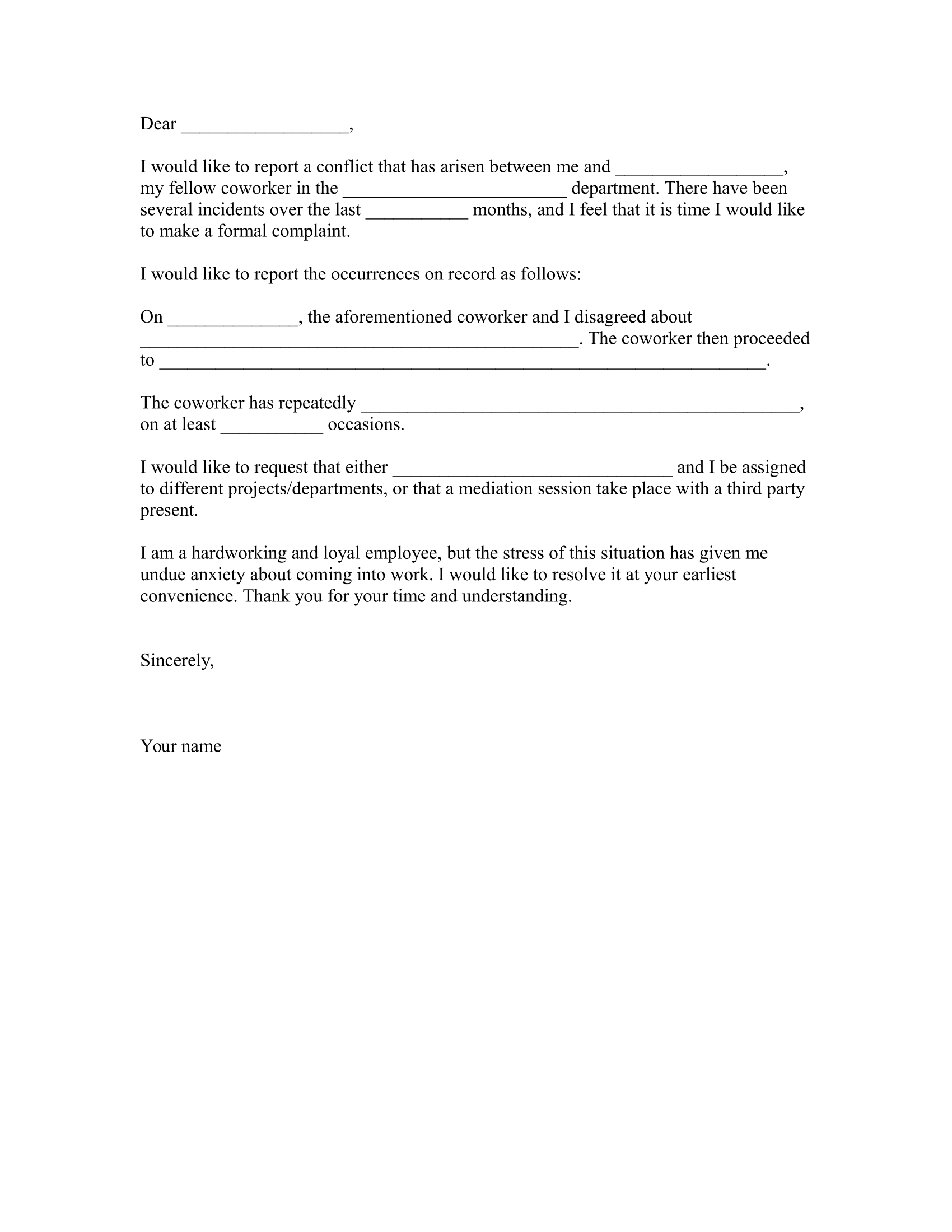 Letter Formats  Download Free Business Letter Templates Forms